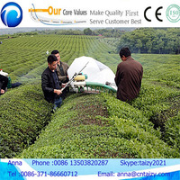 Good quality high efficiency red tea picking machine with gasoline engine