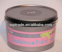 Sublimation offset ink for two-color offset machine