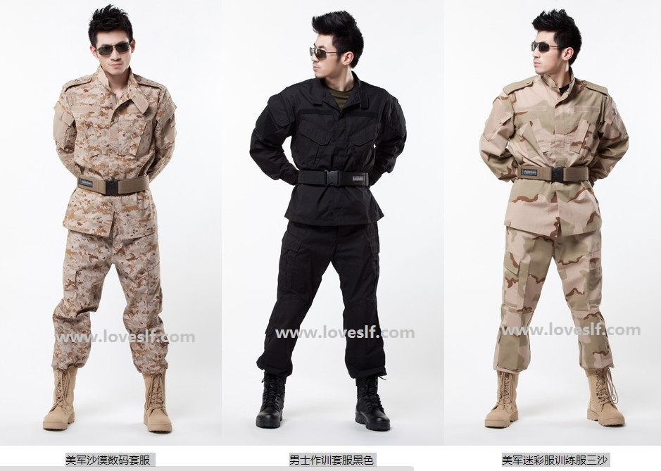 Loveslf military uniform for army tactical uniform navy camouflage uniform tactical gear