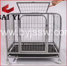 Cheap Durable Aluminium Big Size Dog Cages And Galvanized Steel Dog Run