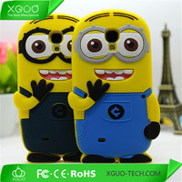 soft silicone minion case for samsung galaxy s4 mini i9190