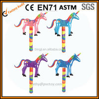 inflatable unicorn toys, inflate animal pvc toys