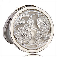 New style comestic mirror compact mirror foldable pocket mirror for girls