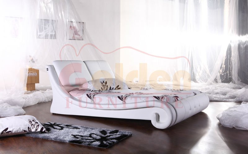New Style bed furniture soft bed F823