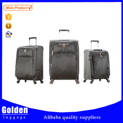 cabin size wheeled trolley luggage bag push button handle luggage