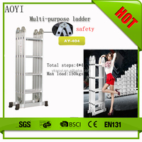 AY 2015 New design folding rung cover aluminum ladder