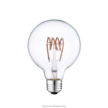 G45 Clear Frosted 2W E14 E27 110V-130V 220-240V mini round led filament bulb light led the lamp for decorat