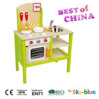 Best selling kids kitchen, wooden kids kitchen set which best toy by sky-blue