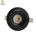 0-100% dimming warm white cool white 8w commercial led cob downlight with 83mm hole with factory price and real high quality
