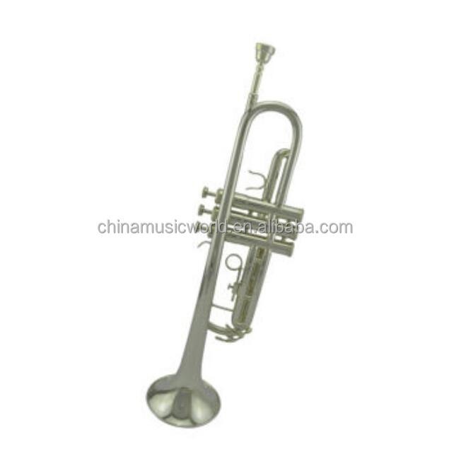 Best quality Nickel plating Bb Tonality trumpet(ATR-230N)