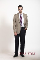 High quality ,special designed and fashion 2PCS business suits for man