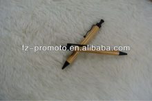 environmental bamboo promotional metal ball pen promotional bamboo stylus pen