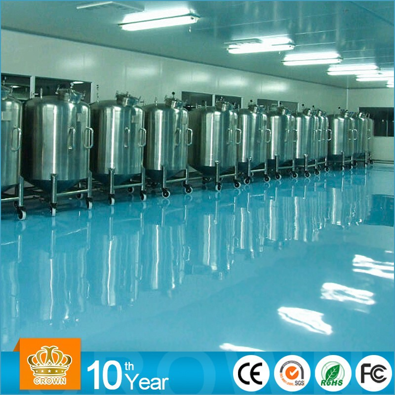 Dust Proof Stone Hard Self Leveling epoxy floor coating
