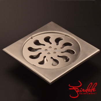 High Quality Kitchen Accessories Floor Trap Drains Stainless Steel Floor Drain