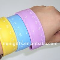 Silicone Ruler Slap Band