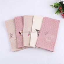 Hot sale high quality reusable custom tea towels plain linen tea towel