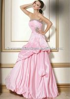 2013 New Arrival Hot Pink Wedding And Evening Dress In Istanbul