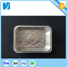 Take away large volume BBQ aluminum foil tray