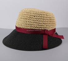 Floppy Cheap Comfortable Lady Paper Straw Hats