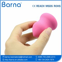 fancy fashion makeup applicator/remover foam sponge,cute gentle cosmetic applying sponge,soft non-scratch beauty cosmetic sponge
