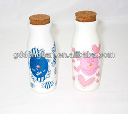 china factory direct fashion ceramic salt and pepper shaker with lids
