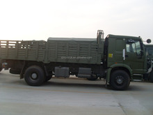 HOWO 4x4 All wheels driving Military cargo truck