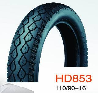 Motorcycle Tubeless Tire HD853