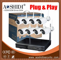 8ch CCTV Wireless Camera Kits Home Surveillance Security IP Camera WIFI CCTV System
