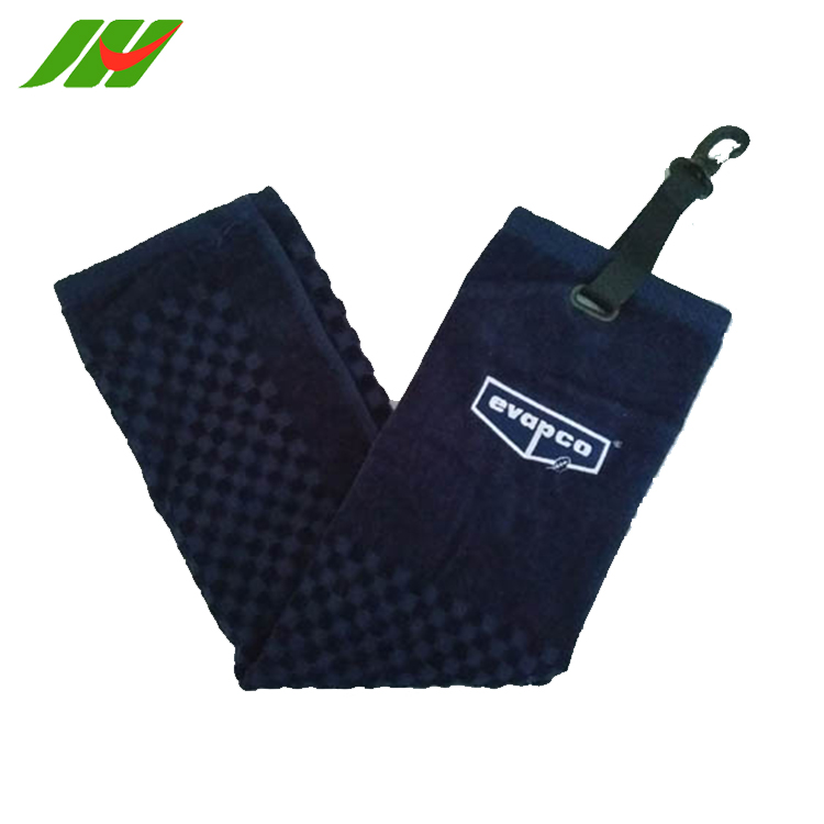 JHGT166 New Products China Manufacturer Woven Microfiber Print Gym Embroidered Towel