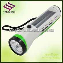 Energy radio solar flashlight