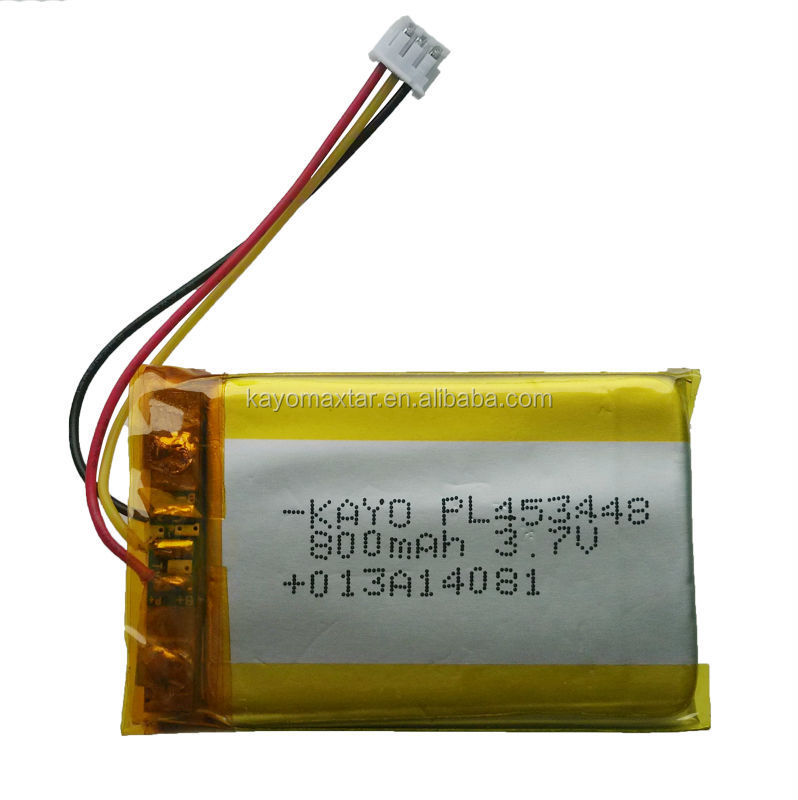 UL1642 approved lithium polymer battery
