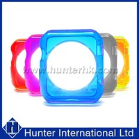 Top Quality Crystal Clear Gel Case For Apple Watch