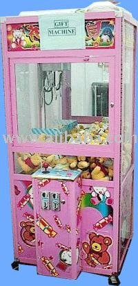 Toy catcher machine