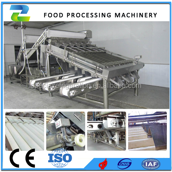 2015 Factory Price Washing Sorting Machine for Fish Shrimp Grader