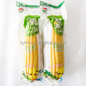 Best Taste Yellow Glutinous Corn with High Quality