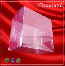 hand make clear plastic box with thin film