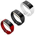 China Manufacturer Calorie Counter Fitness Wrist Watch Pedometer Wristband Heart Rate Monitor