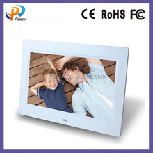 7 Inch LED Screen Digital Photo Frame 1024*600 dots LCD advertising display support video/audio/picture/e-book frame HD 1080P