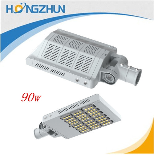 2015 New product die-casting aluminum alloy 90w led street light China factory for road
