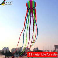 23 meter large octopus inflatable kite for sale