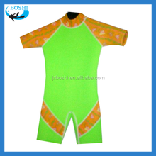 wet suit for divign and surfing Kid's Neoprene surf suit