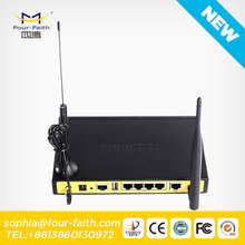 F3424 industrial 3g M2M Vpn wifi router for remoter for Vessel Monitoring system