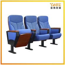 China Supplier Functional lecture used movie theater confort seats wood concert hall chair YA-L01C