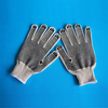 pvc dotted working glove/450g single side pvc dotted cotton g Do gloves cheap cotton working Manufacturers In China safety glove