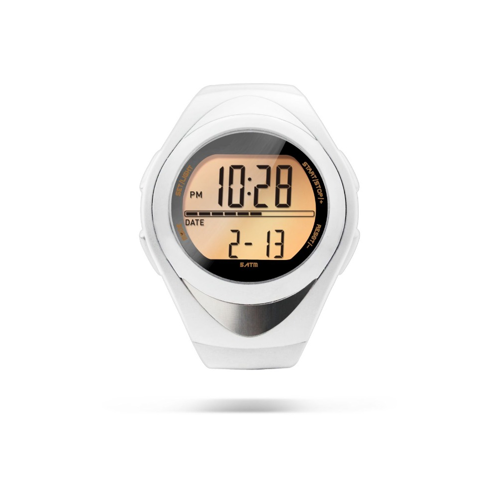 Heart rate monitor smart bracelet pedometer watch