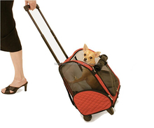 2014 hot selling pet carrier on wheels