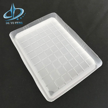 Manufacturer plastic biscuit cake frozen food tray