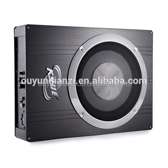 black wholesale dc slim art type powered underseat bass subwoofer audio