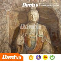 DMT AD modern art buddha abstract painting