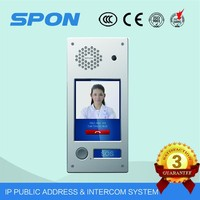 IP sip TCP IP door video door phone intercom system
